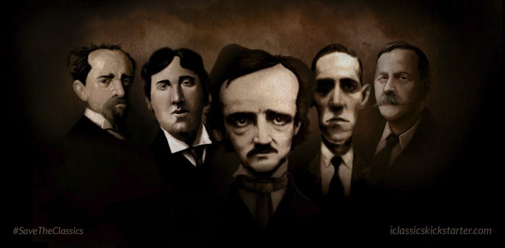 Poe, Lovecraft, Dickens, Wilde & Doyle
