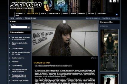 Cronicas de Maia -SciFiWorld